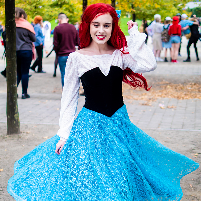 Ariel Village Dress Cosplay Velveteena Leigh