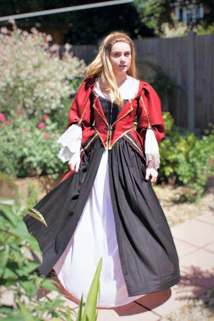 Elizabeth Swann Dress Cosplay 01 Velveteena Leigh