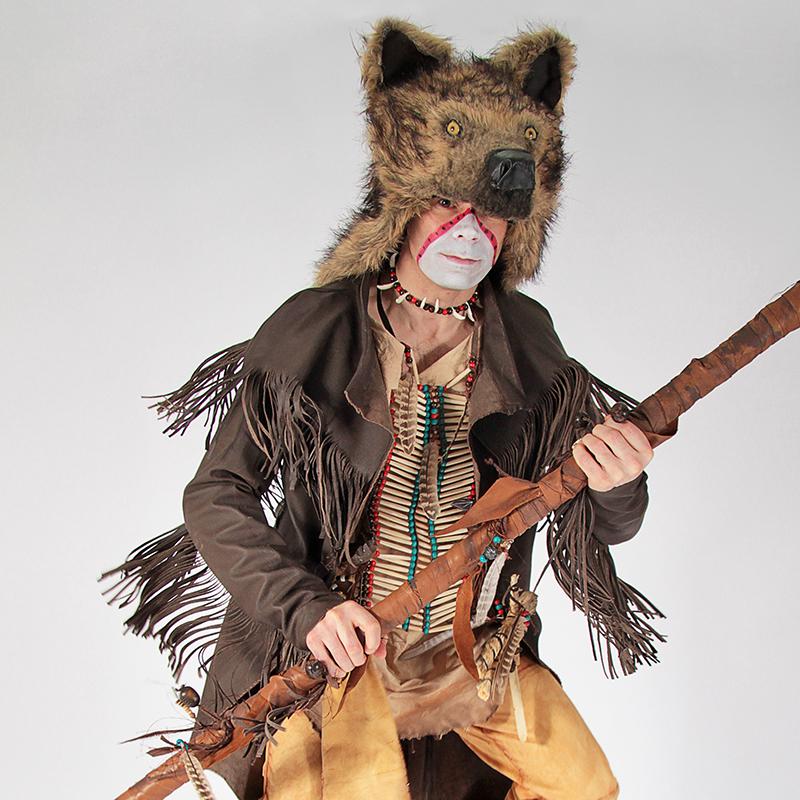 Native American Blackfoot Cosplay Theatrical Velveteena Leigh