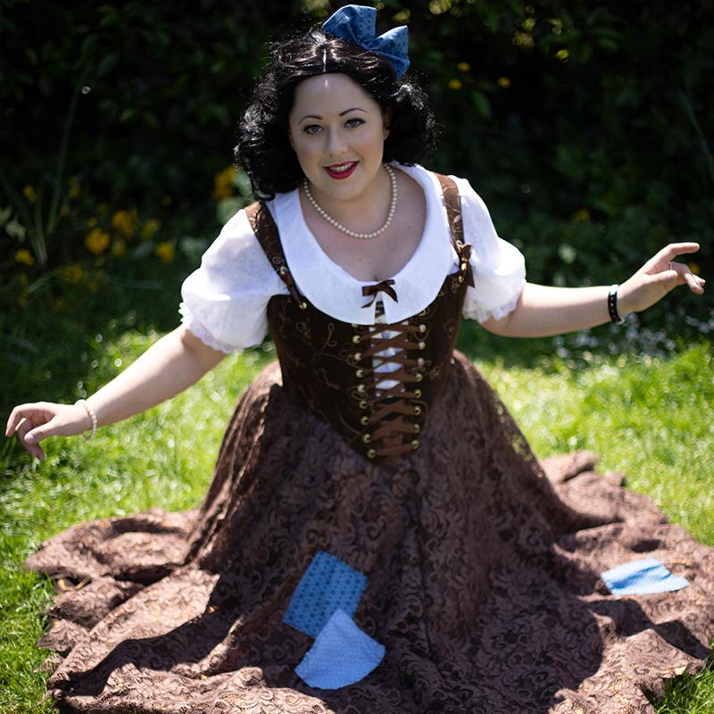 Snow White Rags Cosplay Theatrical Velveteena Leigh
