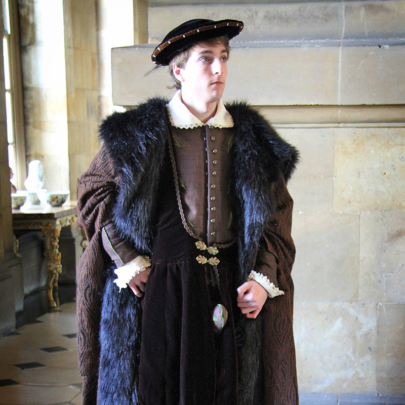 Thomas Cromwell Cosplay Theatrical Velveteena Leigh